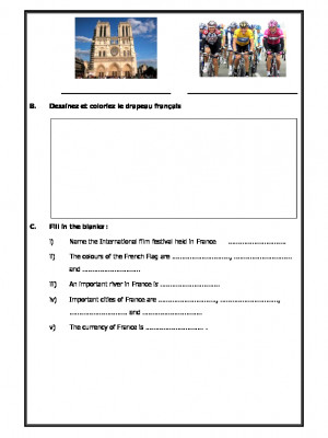 A2zworksheets Worksheets Of French Practice Worksheets French