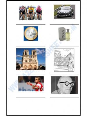 French Worksheet - La Culture Française