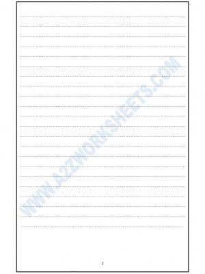 French Worksheet - Decription de l'image-02