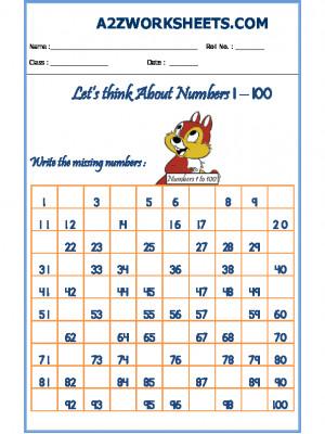 Missing Number Worksheet-05