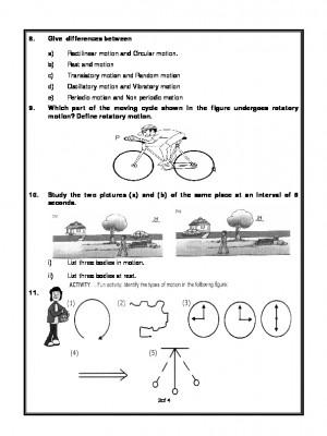 Motion and Measurement of Distances