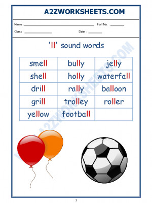 English Phonics Sounds - 'll' sound words-02