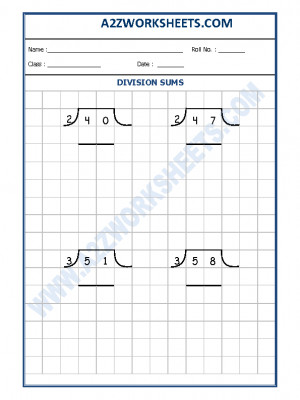 Math Division Worksheet-07