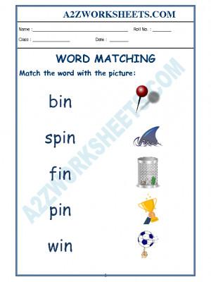 Class-Kindergarten-Word Matching-02