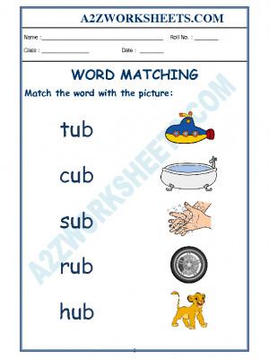 Class-Kindergarten-Word Matching-04