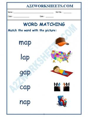 Class-Kindergarten-Word Matching-06
