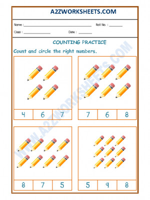 Number Recognition Worksheet - 02