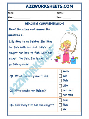 English Comprehension,Comprehension worksheet, Reading worksheet, English worksheet Comprehension,Workbook, Reading,Workbook, English workbook