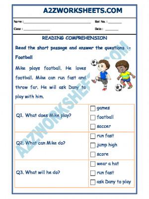 English Comprehension - 06