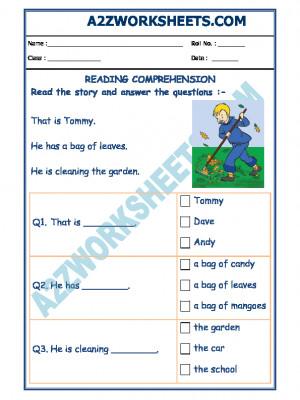 English Comprehension - 07