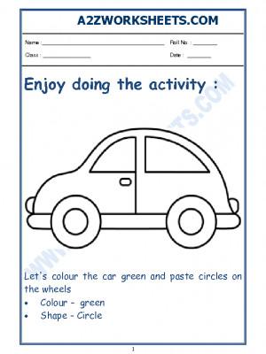 Nursery Activity Worksheet-01
