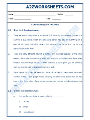 English Comprehension Passage-09