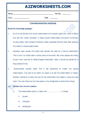 English Comprehension Passage-14