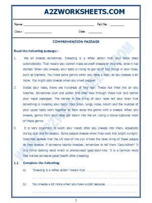 English Comprehension Passage-15