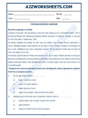 English Comprehension Passage-21