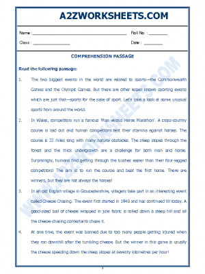 English Comprehension Passage-30