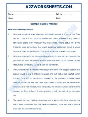 English Comprehension Passage-34