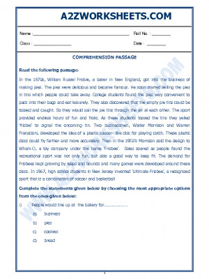 English Comprehension Passage-42