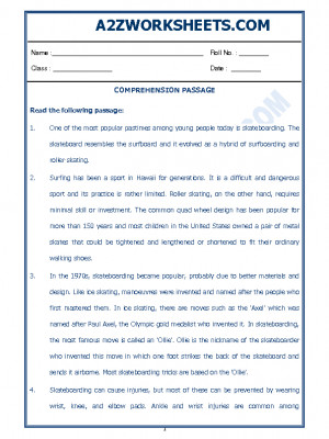 English Comprehension Passage-44