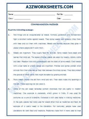 English Comprehension Passage-50