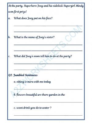 English Comprehension - 24