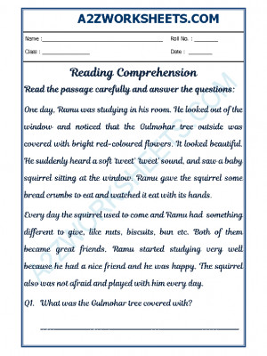 English Comprehension - 27