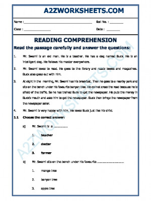English Comprehension - 15