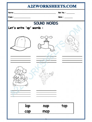 Class-Prep-'ap' sound words