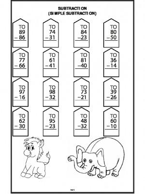 Subtraction (Simple Subtraction)