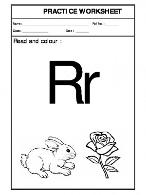 Recognition of R