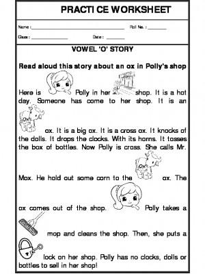 Vowel 'O' Story