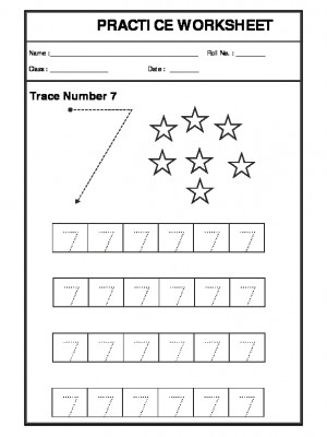 A2Zworksheets: Worksheets of Counting-Numbers-Maths,Workbook of ...