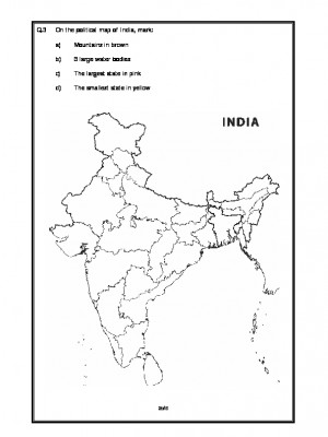 India - Political Features