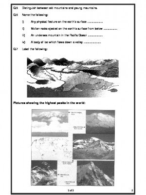 Major Landforms of the Earth
