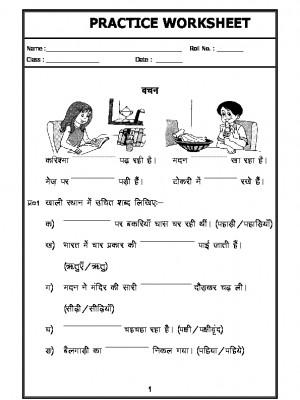 Hindi Grammar - singular plural in hindi