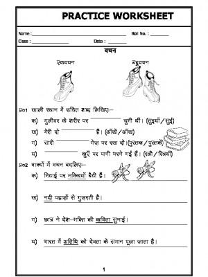 Hindi Grammar- Singular Plural in Hindi