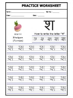 A2Zworksheets: Worksheets of Language - Hindi - Hindi Practice sheet ...