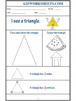 Maths Class-Kindergarten-Shape Triangle
