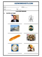 Language French Worksheet - LA CULTURE FRANCAISE