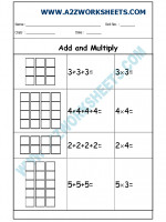 Maths Class-I-Add and Multiply