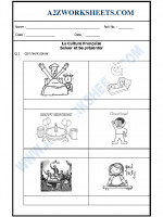 Language French Worksheet - Saluer et Se présenter