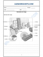 Language French Worksheet - Decription de l'image-03