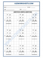 Maths Addition Worksheet-05 (simple addition)