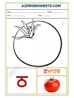 Language Punjabi Language - Akhar tainka