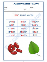 English English Phonics Sounds - 'ea' sound words-02