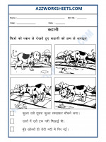 Language Hindi - Kahani banao (Story Writing)