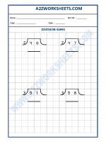Maths Math Division Worksheet-07