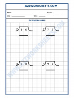 Maths Math Division Worksheet-09