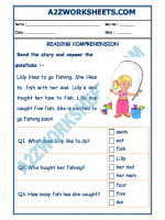 English English Comprehension - 01