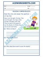 English English Comprehension - 04